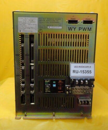 Yaskawa 4s587-156-3 Linear Motor Controller Clsr-42-n2cc-1 Nikon Nsr-s204b Used