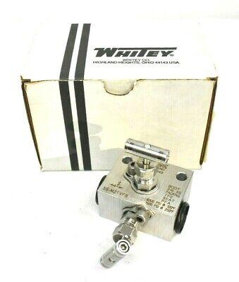 Whitey Ss-m2tvf8 Stainless Steel 12 Valve