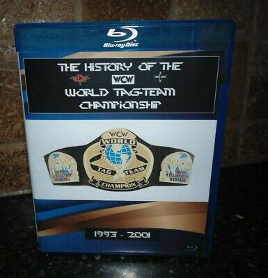 History of the WCW World Tag-Team Title Championship Blu-ray Best Wrestling