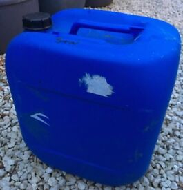30 Litre Blue HDPE Screw Cap Drum, Tubs, Jerrycan Jerry Can