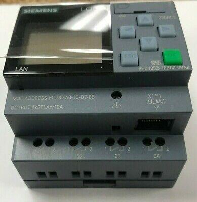 Siemens Controller Logic Logo 8 230rce Display 8di 4do 400 Blocks Sii