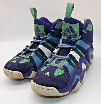 2012 Mens Adidas Crazy 8 222249 Court Purple/Teal Shoes! Size 8 $160.00