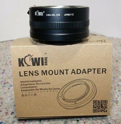 Kiwi Lens Mount Adapter Nikon F to NEX