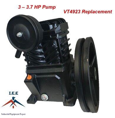 Campbell Hausfeld Replacement Vt4923 3 Hp Cast Iron Air Compressor Pump Flywheel