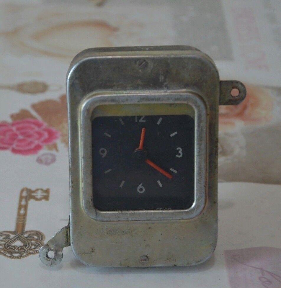 Vintage Car Clock Soviet Auto VOLGA GAZ ACV3 АЧВ-3 12V Russian USSR