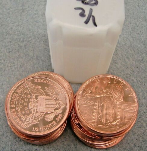 20-1/2oz. Standing Liberty Copper Rounds