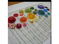 Wanted Buttons/bits n bobs, broken costume jewellery, beads.