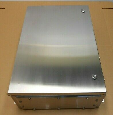 1 Nib Hoffman Atex765020ss63 Stainless Steel Enclosure 316ss Atex 762x508x205mm