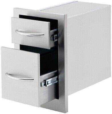 10 5 in 2 drawer outdoor kitchen
