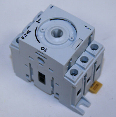 Eaton R5a3016u Rotary Disconnect Non-fusible 16a 3 Pole 600v A Frame New In Box