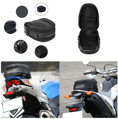 Durable Oxford Cloth Motorcyle Seat Saddle Pack Shoulder Bag+Buckle Strap+Cover