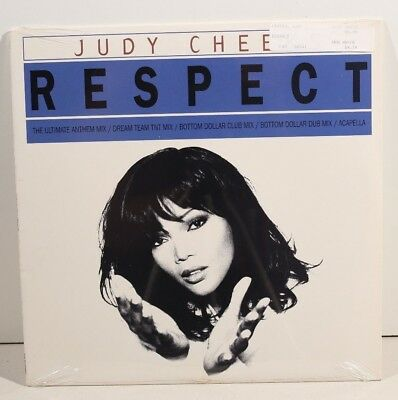 Lot Of 2  Judy Cheeks Respect 12   Sealed Vinyl