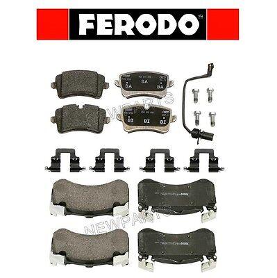 For Audi S6 S7 Front & Rear Brake Pads KIT Ferodo OEM
