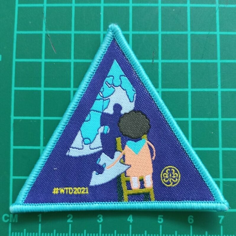 World Thinking Day 2021 Girl Guide Badge #WTD2021