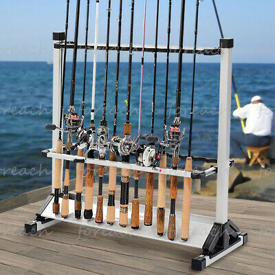 Portable Fishing Rod Holder Automatic Lifting Bracket Stainless Stand Sport Sea