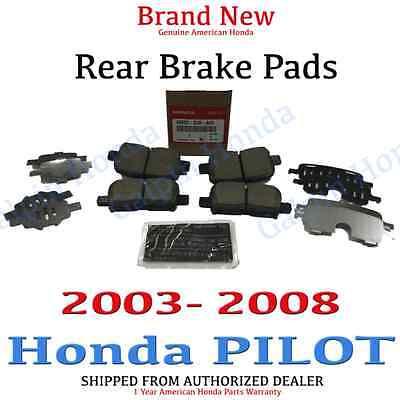 2003- 2008 Honda PILOT SUV Factory OEM Genuine Rear Brake Pad Set