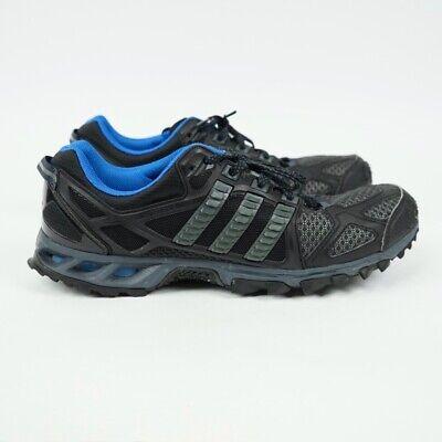 Adidas Kanadia Trail 6 Trainers - Black / Blue / UK 12 (D66503)