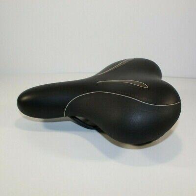 Selle Royal Lookin Sport Black Bicycle Seat Unisex  Comfort Seat CoolXSenium