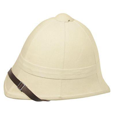 pith helmet british sand one size  new