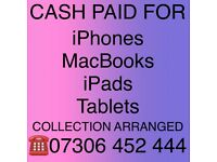 💰CASH FOR IPHONE 13, 13 PRO, 13 PRO MAX, 12, MACBOOK PRO, IPAD, NEW USED LATEST MODELS CAN COLLECT