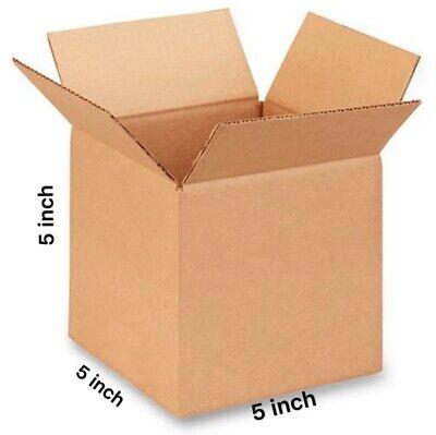20 5x5x5 Cardboard Paper Box Mailing Packing Shipping Box Corrugated Carton