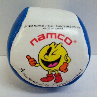 Vintage 1997 PacMan Namco Amusement to Entertainment Arcade Prize Hacky Sack Toy