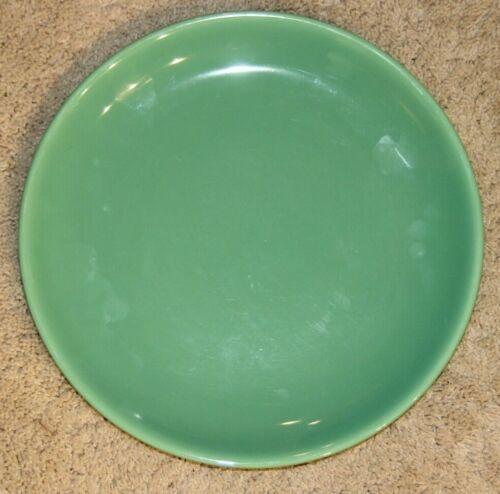 """Vintage Gladding McBean Franciscan El Patio Huge Large Chop Plate 14"""" Green"""