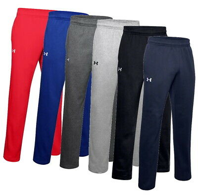 Under Armour Mens Team Rival Cotton Sweat Pants 1248351 Nwt