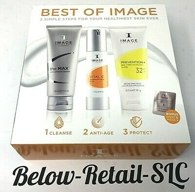 Image Skincare Best of Image 3 Simple Steps plus Bonus NEW! Fast Free (Best Image Moisturizers)