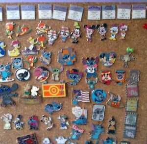 Lot of 25 Assorted Disney Trading Pins *SAVE TONS OF CASH MONEY$$