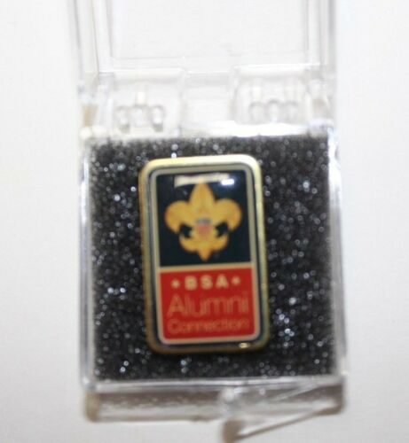 D3, BSA Insignia Alumni Connection Lapel Pin, New in Box, NICE!