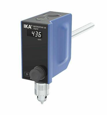 New Ika Microstar 30 Digital Overhead Stirrer 50 - 500rpm 20lt Max 25004884