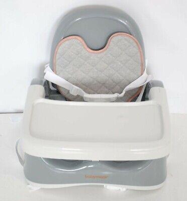 Babymoov Kompakte Sitzerhöhung smokey, mobiler Boostersitz 18-OS1702/406