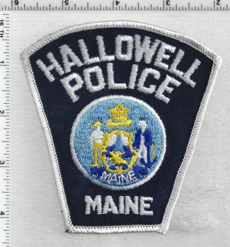 Hallowell Police (Maine) 1st Issue Shoulder Patch