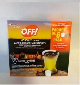 Off! Mosquito Lamp Insect Repellent Refill Pack
