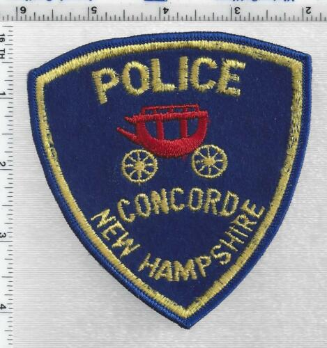 Concord Police (New Hampshire) 3rd Issue Shoulder Patch