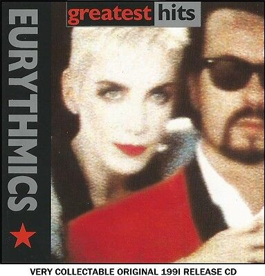 Eurythmics - Very Best Of Collection RARE 1991 CD 80's Synth Pop Annie