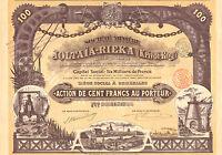 Rusia, Societe Miniere Joltaia-rieka (krivoi-rog) Sa, Accion, 1899 -  - ebay.es