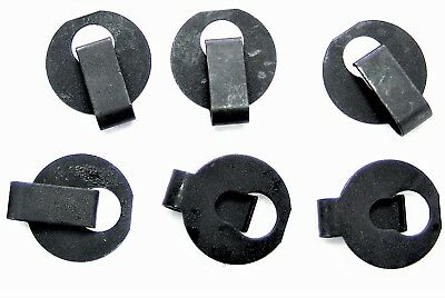 """GM Truck Throttle Cable Clips- Fits 1/4"""" Rod with 5/32"""" Groove- 6 clips- #013"""