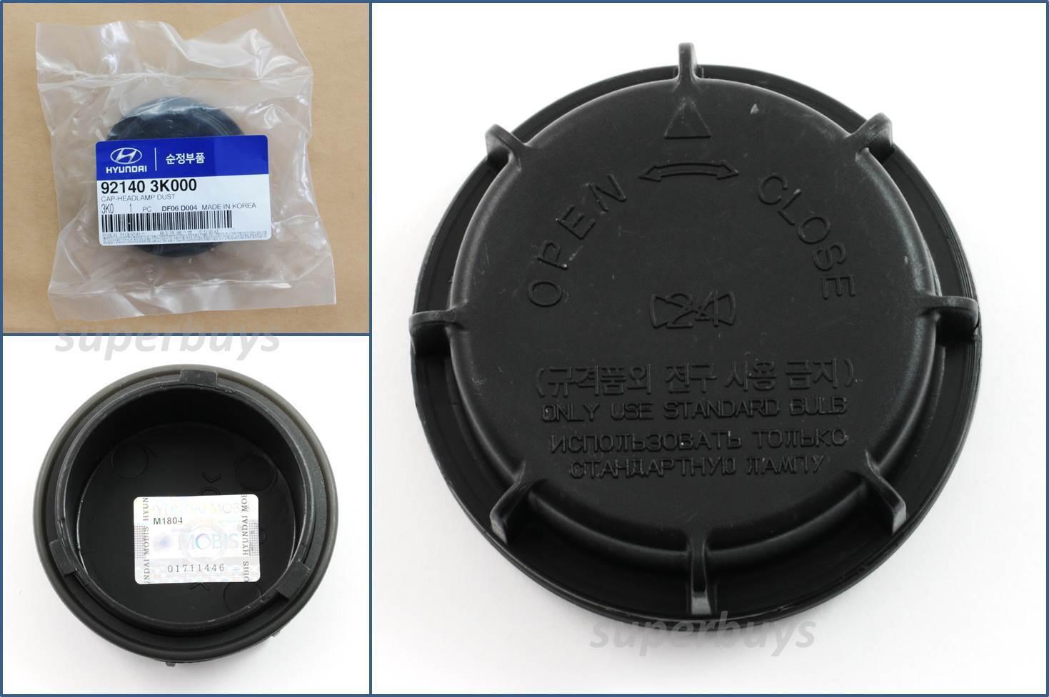 Car Parts - Part no. 921403K000 Genuine OEM Headlamp Cap Dust Cover Hyundai KIA Vehicles Car
