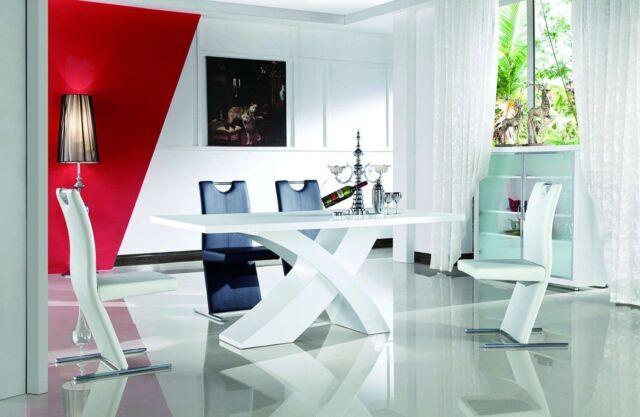 Holztisch modern  Esszimmertisch 160x90 Designertisch Esstisch Holztisch modern ...