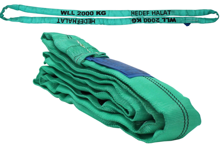 HEBEBAND 1000kg Rundschlinge 5m Hebegurt Krangurt Hebeschlinge 1T Hebeband TOP