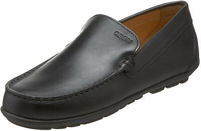 Geox Kid's Fast 1 Loafer (Toddler/Little Kid/Big Kid), Black, Size 13.0 fekK