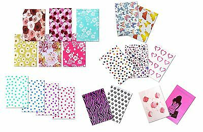 "(20-200Pack) 10"" x 13"" Designer Prints FLAT POLY Mailers -USPS Business Envelope"