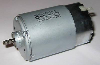 Mabuchi Rs-555 Vd - 12v - 13500 Rpm - High Torque Motor