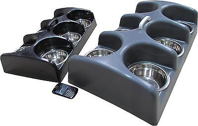 Puppy feeder dog whelping box weaning dish individual 6 bowl separated feeding