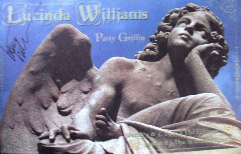 LUCINDA WILLIAMS FILLMORE POSTER PATTY GRIFFIN F365 BILL GRAHAM ORIGINAL
