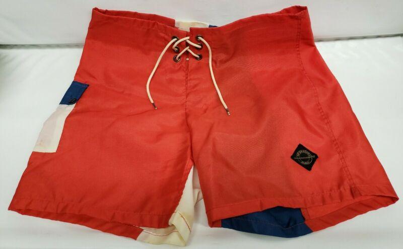 Vintage McGregor Hobie Swim N Play Shorts Size 32 1960