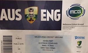 2x 3rd Ashes Test Tickets- Boxing Day at MCG, Melbourne Toowong Brisbane North West Preview
