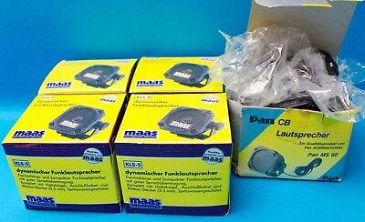 5x Externe Funk Lautsprecher Maas 4x KLS -5 / 1x Pam MS 60 NEU NEW TOP speaker